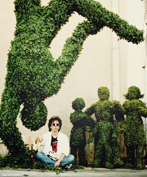 Set of Edward Scissor Hands (Tim Burton in case you didn't know)