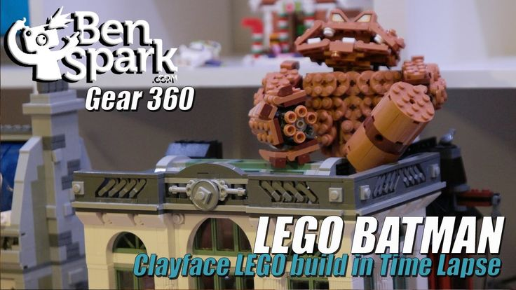 Time Lapse LEGO Batman - Clayface Build Last week Brian and I did a LEGO build of Clayface for LEGO Batman. I filmed a Time Lapse using my Samsung Gear 360. You can see the whole episode at https://www.youtube.com/watch?v=GT_u0PP0IMQ&t=91s  Music by Epidemic Sound (http://www.epidemicsound.com)   Video made with the Samsung Gear 360 and the Qik Video Editor.  Thanks for watching!  Please ****SUBSCRIBE****  Check out my second channel, Big DAMN Kid over at http://www.youtube.com/c/BigDamnKid