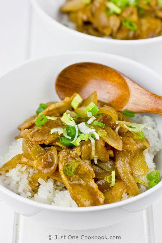 Pork Curry Donburi II