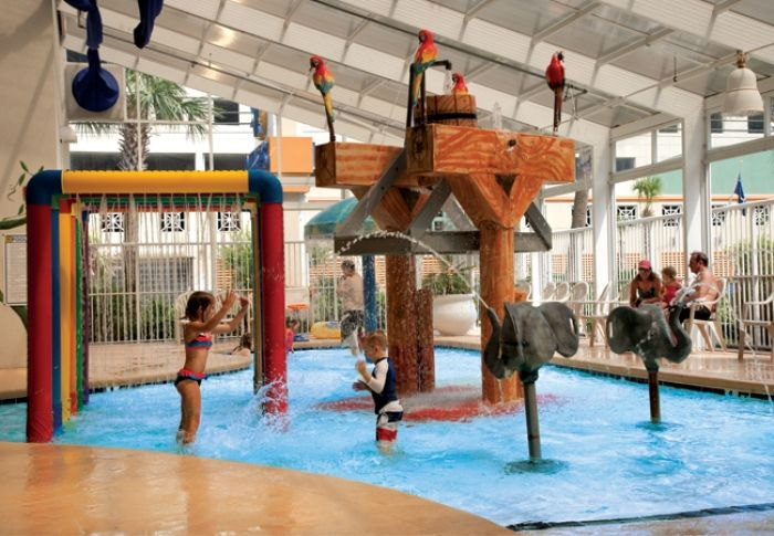 Indoor Water Park - Dunes Village Resort - Myrtle Beach Vacations