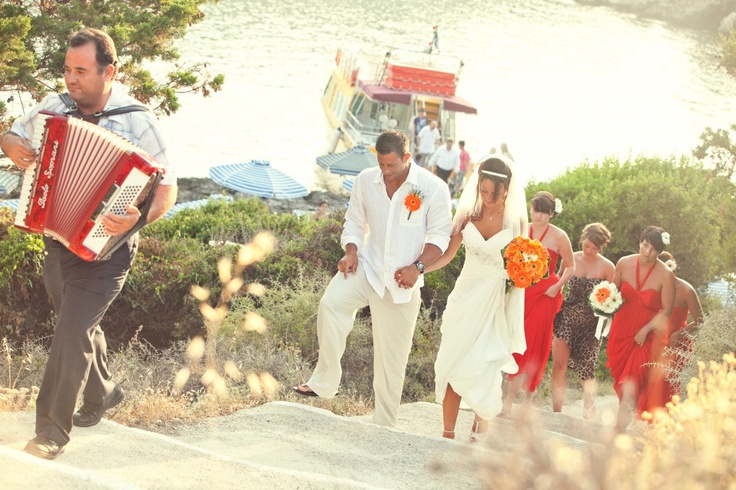 VISIT GREECE  Getting married in #Greece #Lindos #Rhodes