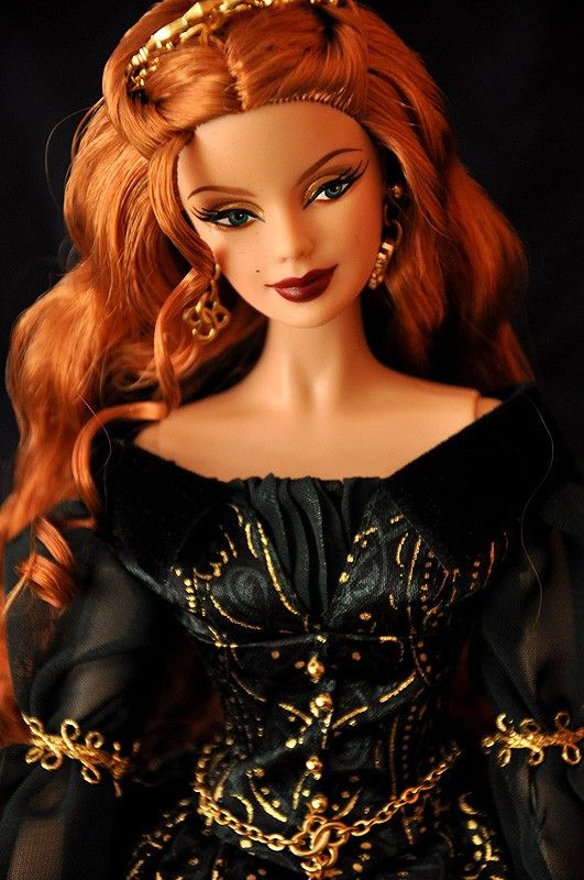 Aine Barbie, Fairy Queen, Legends of the Ireland. by Ephemera | Barbie Collector