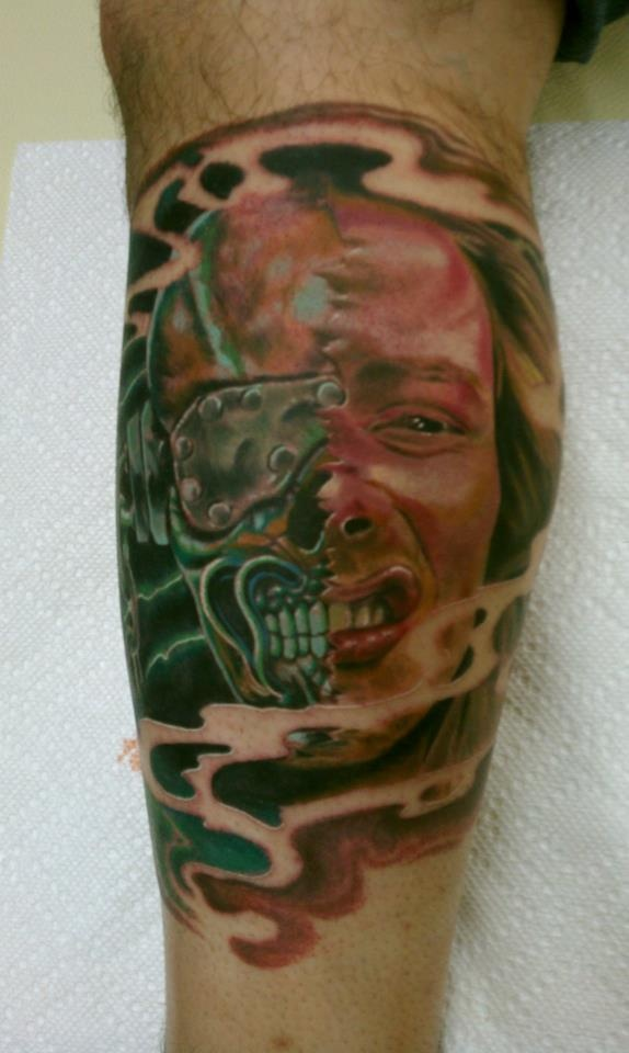 Dave mustaine vic rattlehead tattoo of the day san for Tattoos san antonio tx