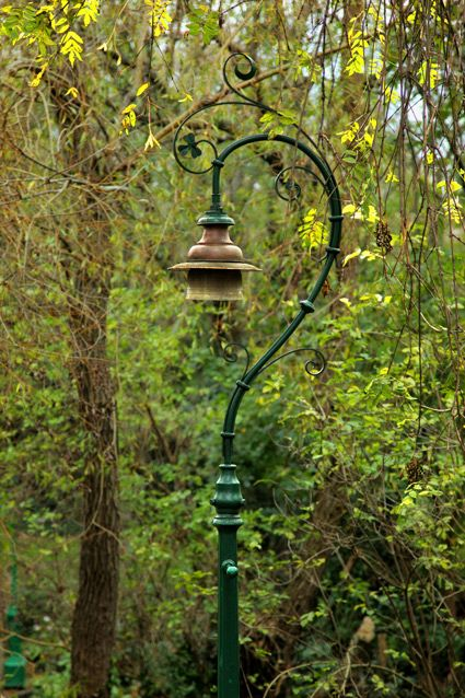 Vintage street lamp - Merrion Square, Dublin