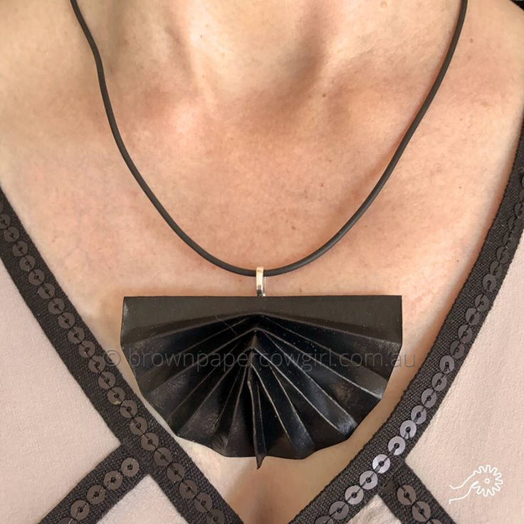A personal favourite from my Etsy shop https://www.etsy.com/au/listing/531412188/black-necklace-gift-for-her-black
