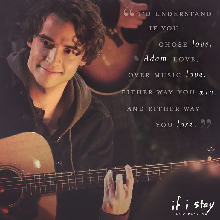 """""""What can I say? Love's a bitch.""""   If I Stay"""
