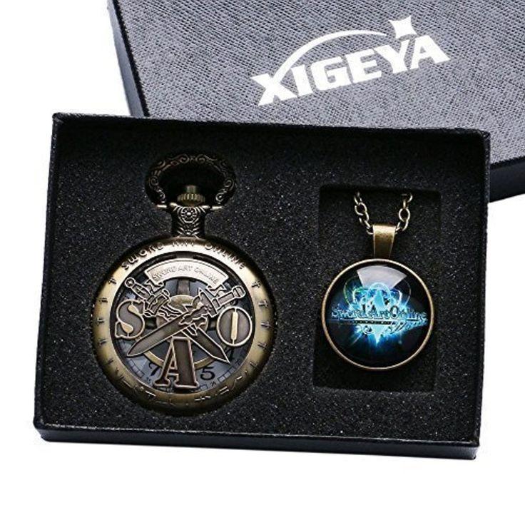 XIGEYA Vintage Bronze japonais Anime Abec épée Art en ligne montre de poche Nacklace homme garçons meilleur cadeau montre de poche mis 2017 #2017, #Montresdepocheetgoussets http://montre-luxe-homme.fr/xigeya-vintage-bronze-japonais-anime-abec-epee-art-en-ligne-montre-de-poche-nacklace-homme-garcons-meilleur-cadeau-montr/