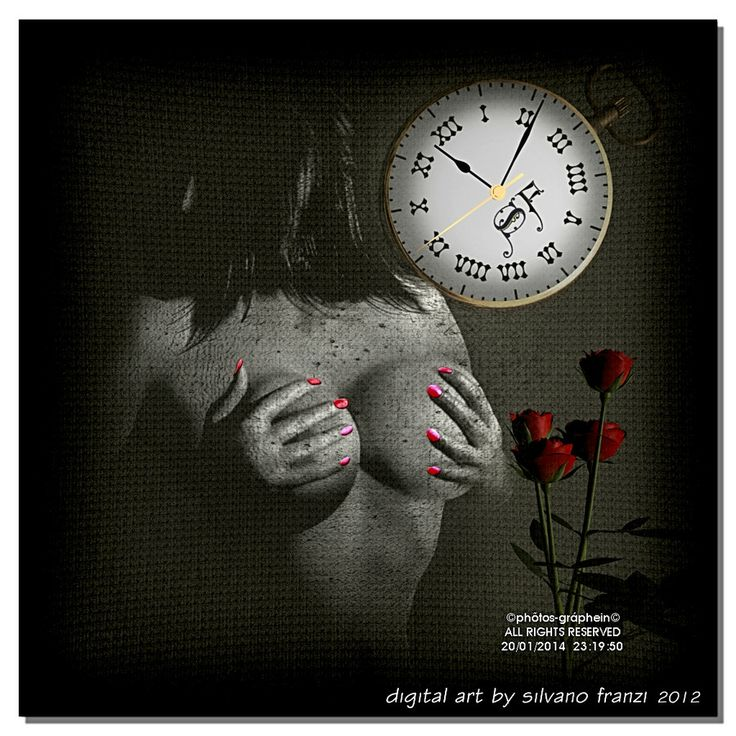 """""""The roses and the time"""" by phõtos_gráphein Silvano Franzi  on 500px follow me on 500px http://500px.com/By_Silvano"""
