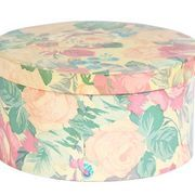 How to Decorate a Hat Box With Fabric | eHow