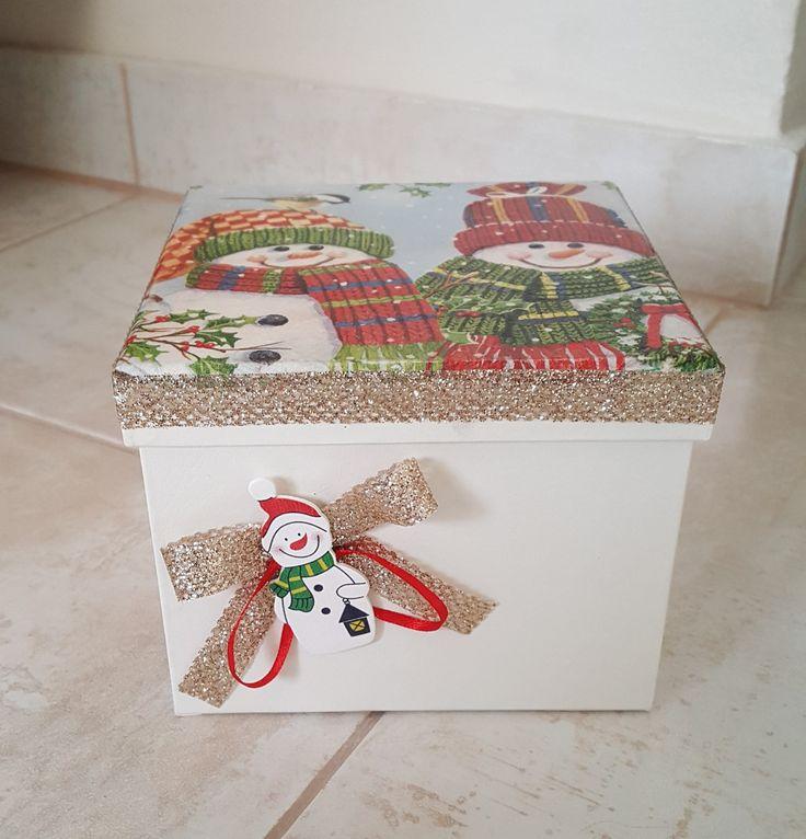 Κουτί χριστουγεννιάτικο