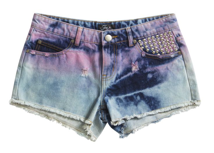 Free2BU Stud Detail Shorts and don't forget your sandals