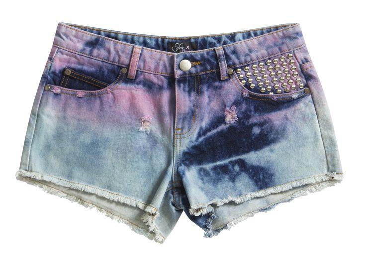 Free2BU Stud Detail Shorts