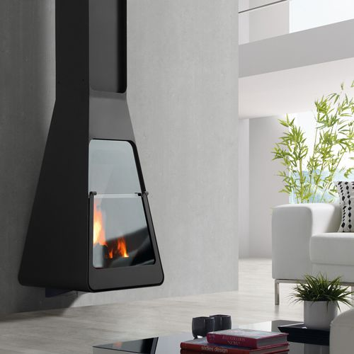 Rocal D9 Wall Mounted Wood Burning Stove