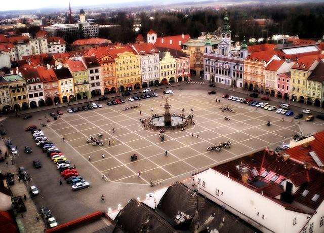 České Budějovice - Budweis by Te Whiu, via Flickr