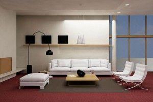 ... soggiorno, Posizionamento di area con tappeti e Posizionamento tappeto