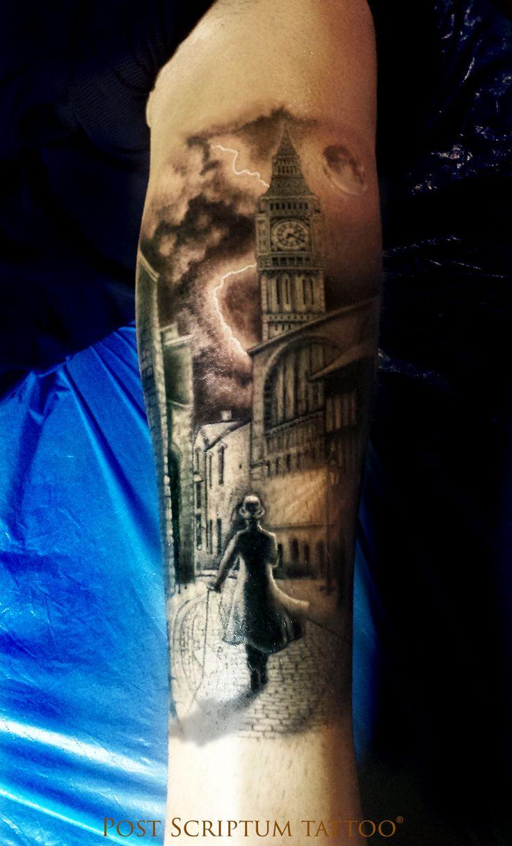 London tattoo, Jack the ripper