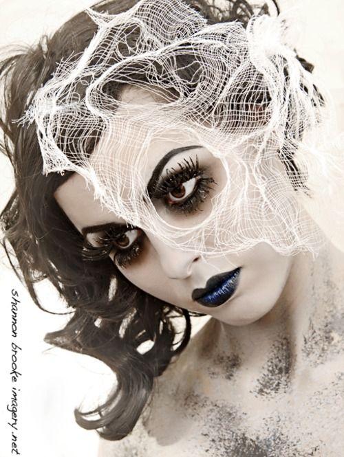 Ghost makeup