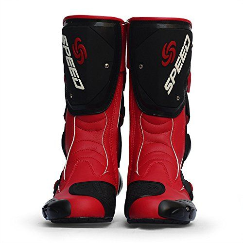 Special Offers - MCOSS Waterproof Motorcycle Boots for Men Dirt Bike Motocross…