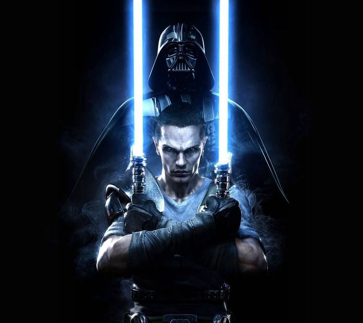 Love Starkiller, hope they reference him in the new films.. Don't think he's canon though.
