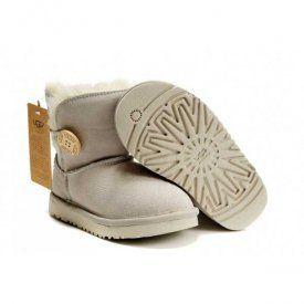 Ugg Kids Classic Short Boots 5991 Sand 60 00 Www Pintuggsboots Net Ugg Boots Bailey Button Kids Boots Sheepskin Boots
