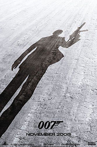James Bond Quantum of Solace Teaser Action Mystery Spy Movie Film Poster Print 24x36 @ niftywarehouse.com #NiftyWarehouse #Geek #Gifts #Collectibles #Entertainment #Merch
