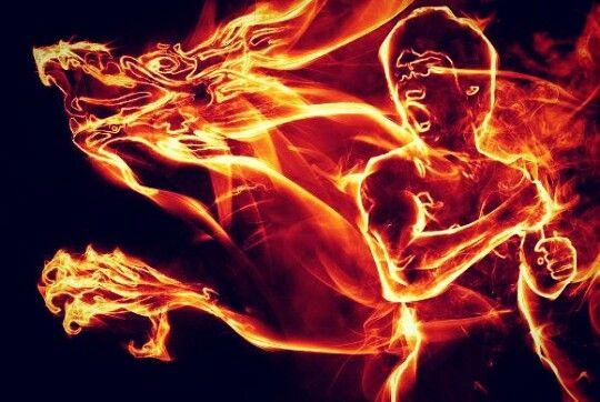 Bruce Lee fire