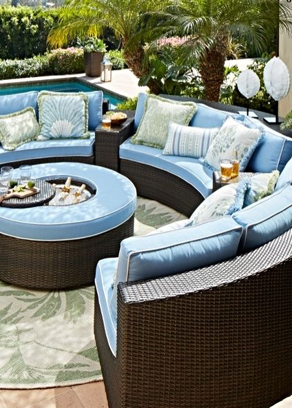 Pasadena modular outdoor collection beautiful the o for Pasadena outdoor furniture