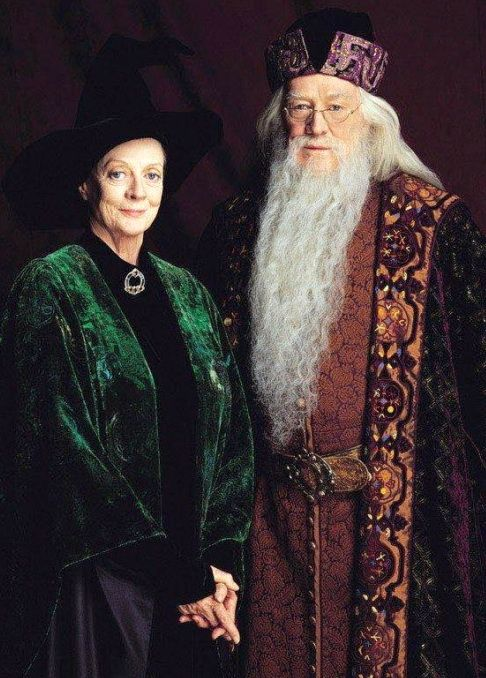 Headmistress and Headmaster of Hogwarts