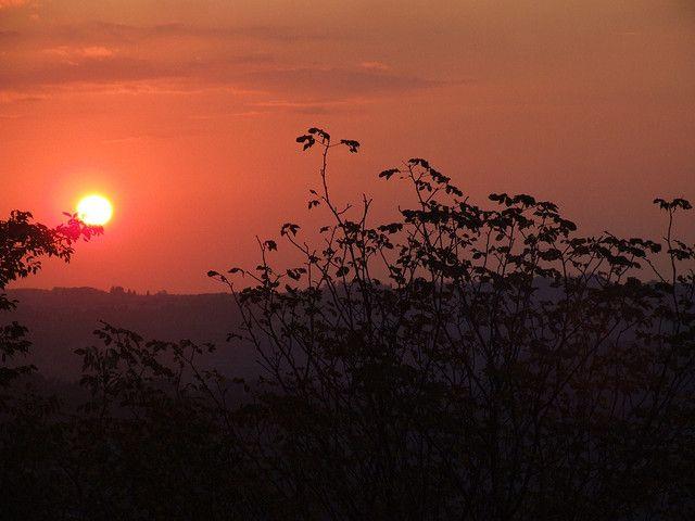 "Tramonto ""africano"" all'Impruneta (FI) African sunset in Impruneta (Florence) © Anna Zucconi"