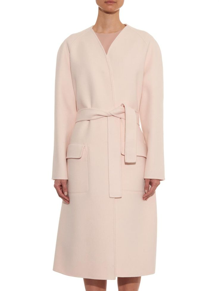 Bottega Veneta Felted cashmere coat