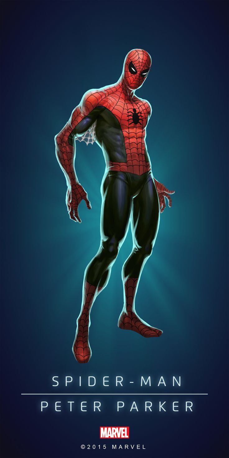 #Spiderman #Fan #Art. (Spider-Man In: Marvel Puzzle Quest!) By: Amadeus Cho. ÅWESOMENESS!!!™ ÅÅÅ+