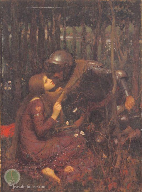 John William Waterhouse: La Belle Dame Sans Merci - 1893