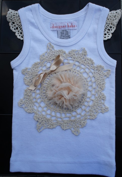 37 best singlets images on pinterest baby boy outfits baby boys girls crochet singlet with ribbon flower girl or special occasion sz 00 or 000 negle Gallery