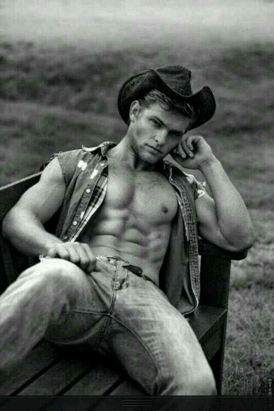 Damn just damn #hot #guy #cowboy