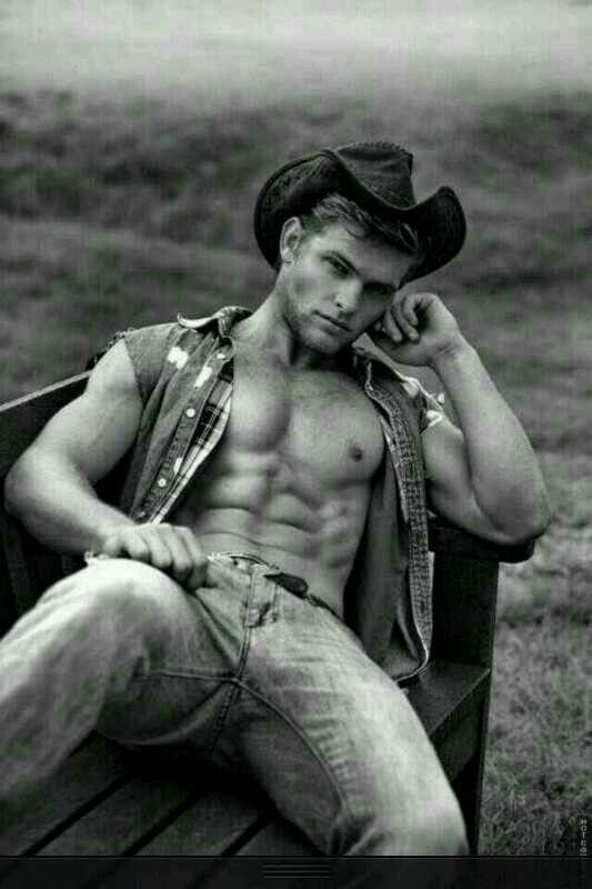 Damn just damn #hot #guy #cowboy