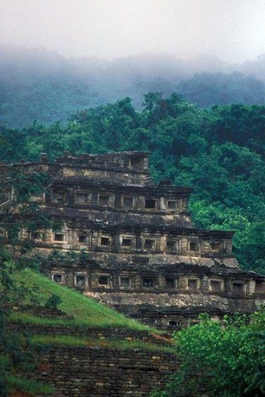 No dejes visitar la Pirámide de los Nichos en #Tajín, #Veracruz #OjalaEstuvierasAqui
