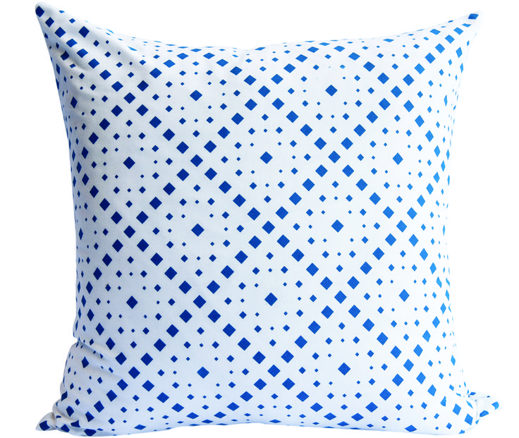Snorkel Blue Blocks Scatter Cushion by Phlo Studio. 60cm x 60cm. From R300.00. Shop online at www.phlostudio.co.za . For orders outside South Africa email us at info@phlostudio.co.za