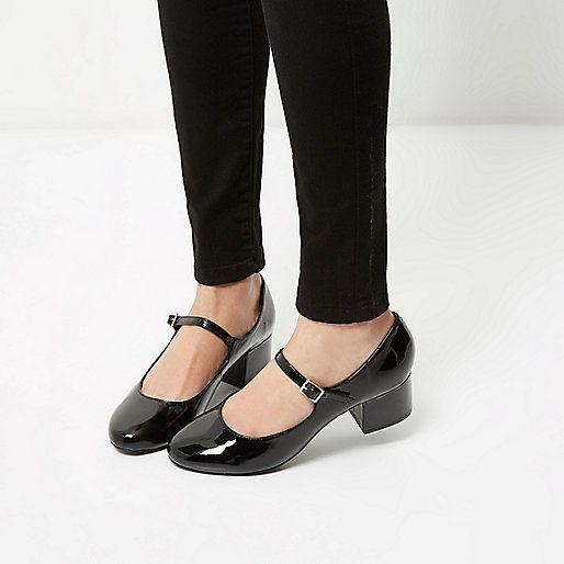Mary Jane zwarte lakleren schoenen met hakken - pumps - schoenen / laarzen - dames