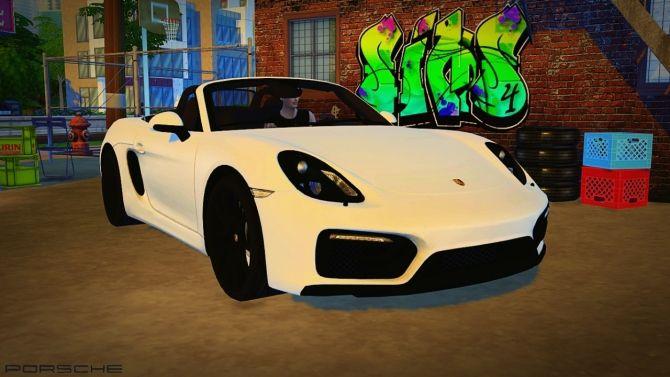 2016 Porsche Boxster GTS at Maximss • Sims 4 Updates