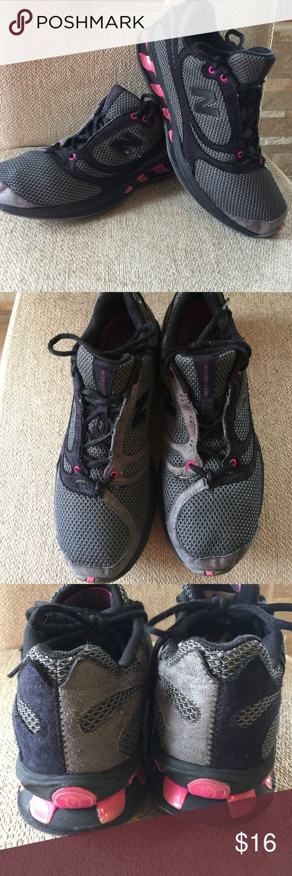 New balance pink and gray athletic shoes New balance pink and gray athletic shoes women's. Size 9. New balance Shoes Athletic Shoes