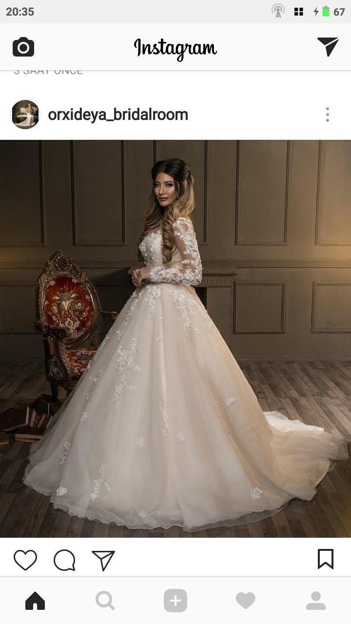 Wedding dress | Bridal Dress/ Orxideya Bridal Room | Pinterest ...