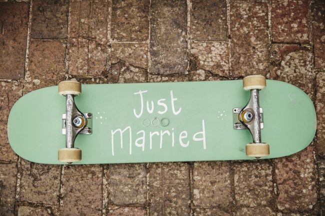 How Caple Court Wedding with a skateboarding theme | Herefordshire Wedding Photography photo by Gemma Williams Photography www.gemmawilliamsphotography.co.uk #skateboard #wedding
