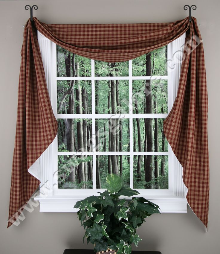 Sturbridge Fishtail Lined Swags Dresses Up Windows And Adds Just The Right  Accent To Complete A