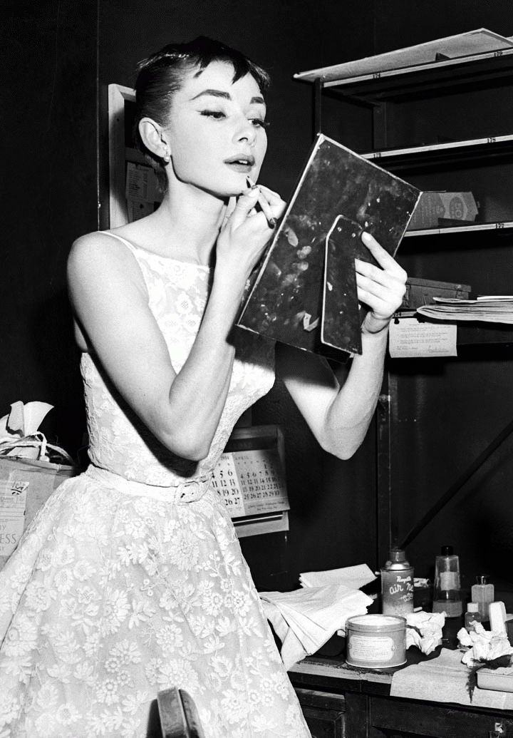 "Audrey Hepburn. ""not to live for the day, that would be materialistic, but to treasure the day. i realise that most of us live on the skin, on the surface, without appreciating just how wonderful it is to simply be alive at all."""