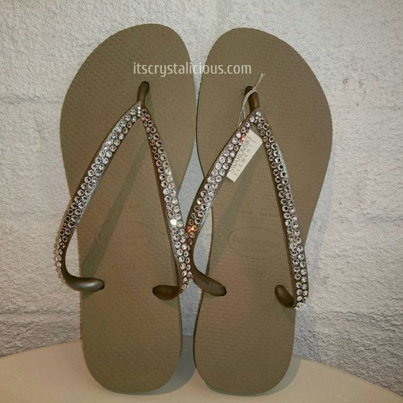 Check out this item in my Etsy shop https://www.etsy.com/au/listing/247231946/nude-havaianas-covered-in-swarovski