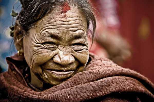 World Faces - Old Woman 2 by ~jokaone on deviantART