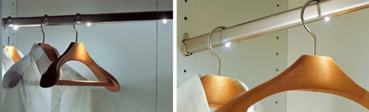 Hettich International's lights inside of rods