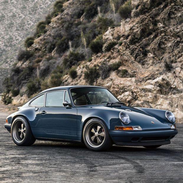 Restauración impresionante de un Porsche 911