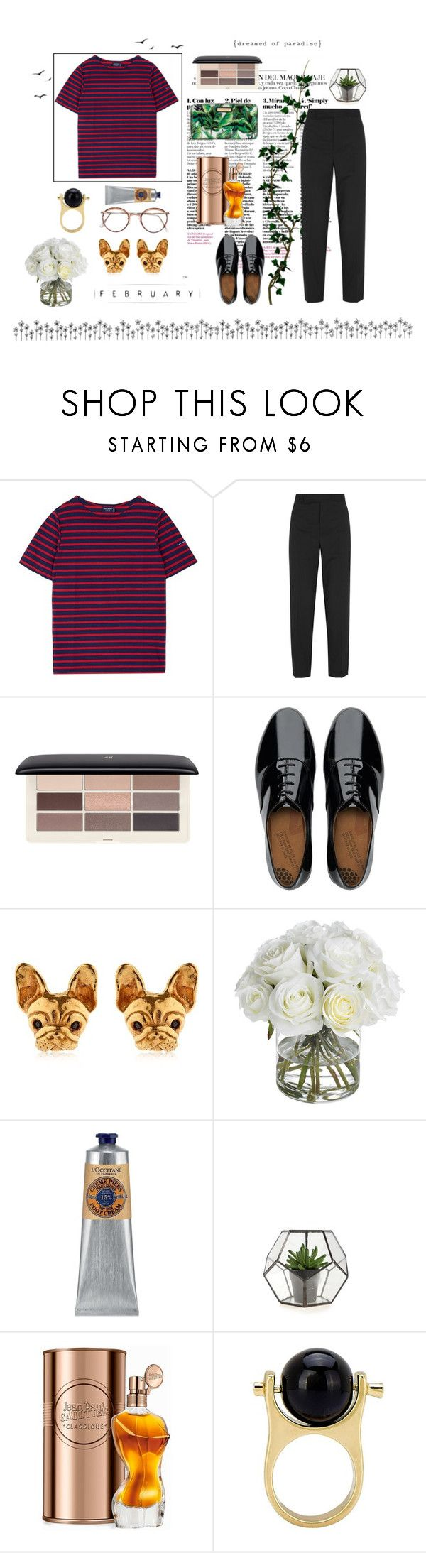 """So she ran away in her sleep-Paradise"" by bearcuddly ❤ liked on Polyvore featuring Saint James, Marni, H&M, FitFlop, Diane James, L'Occitane and Jean-Paul Gaultier"
