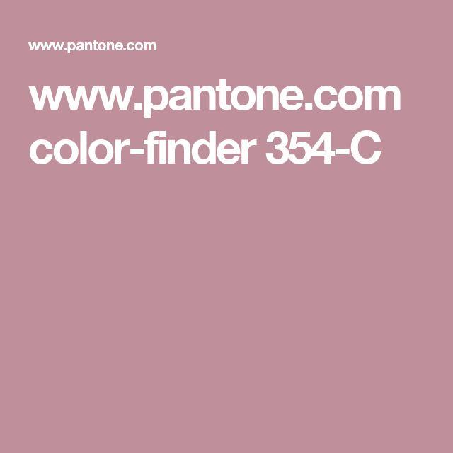 www.pantone.com color-finder 354-C